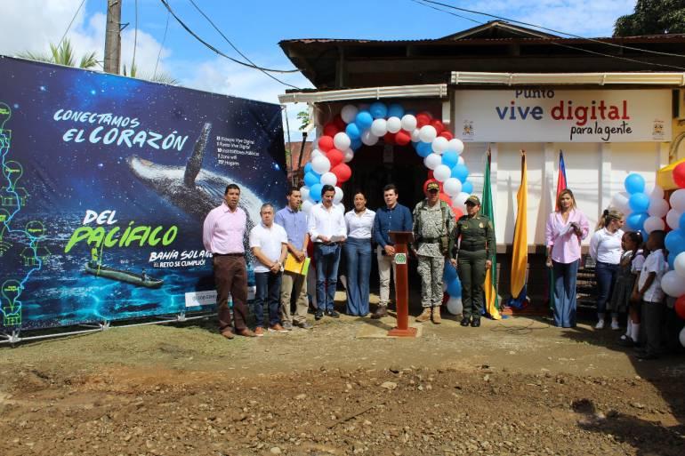 Bahía Solano ya puede disfrutar de internet de alta velocidad