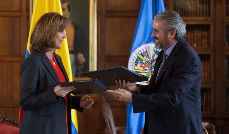 OEA pide a Gobierno y ELN mantener el cese bilateral al fuego
