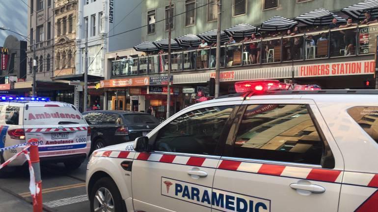 Australia atropello: Automóvil atropelló a 15 personas en Melbourne, Australia
