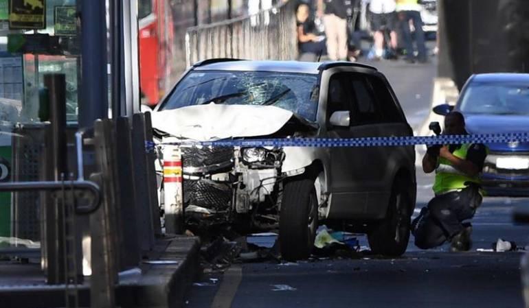 """Policía errorista en atropello en Melbourne: Policía dice """"no hay evidencia"""" de acto terrorista en atropello en Melbourne"""