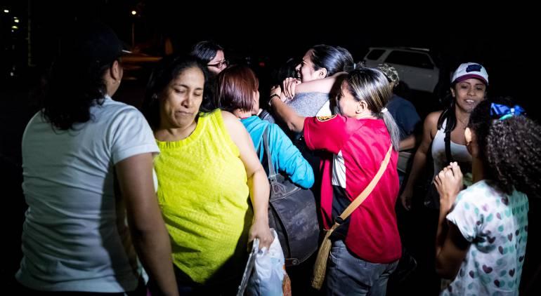 Crisis Venezuela: Primer grupo de opositores en Venezuela fue liberado por Navidad