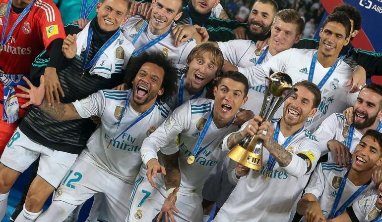 Real Madrid Ranking FIFA 2017 UEFA: Real Madrid cierra el 2017 al frente del ránking de clubes de la UEFA