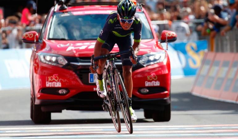 Nairo Quintana subcampeón Giro de Italia Centenario: Nairo Quintana, subcampeón del Giro de Italia Centenario
