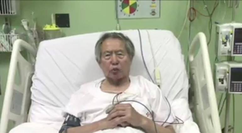 Alberto Fujimori: Alberto Fujimori abandonó la Unidad de Cuidados Intensivos