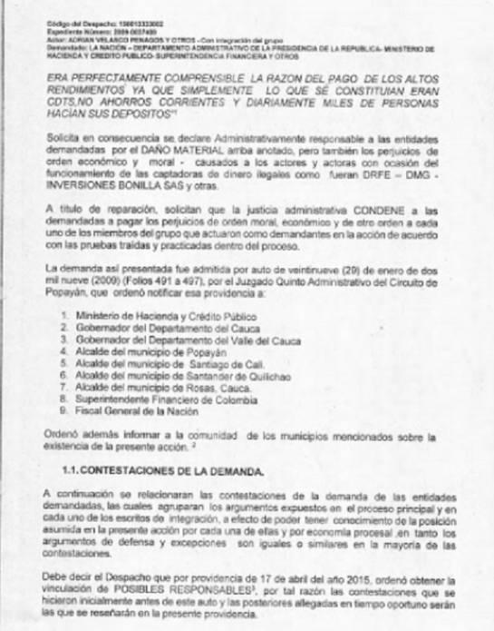 millonaria demanda estafados en pirámides: Estado le gana millonaria demanda a 75.000 estafados en pirámides
