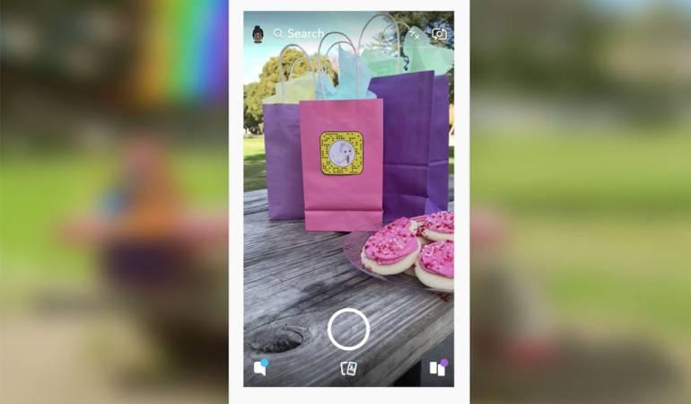 Snapchat tendrá nuevas funciones de realidad aumentada