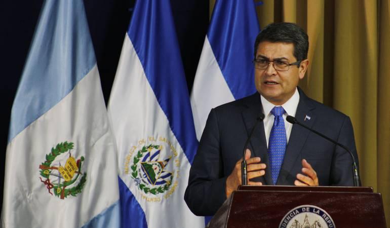 Oposición Hondureña Interponen uan Orlando Hernández: Oposición hondureña Interponen nulidad contra la declaración de Juan Orlando Hernández