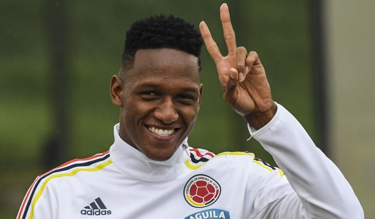 Futbolistas colombianos: Sigue la novela: Palmeiras incluye en su balance la venta de Yerry Mina
