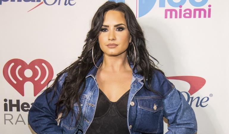 El escote de Demi Lovato que enciende las redes