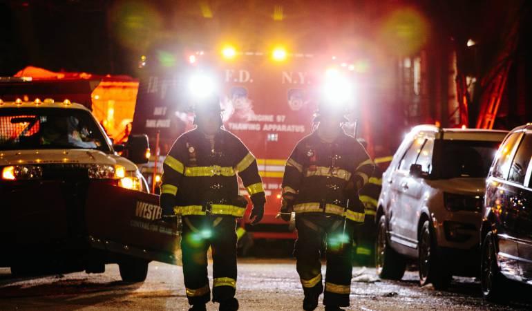 incendio en Nueva York. Causas: Una estufa de cocina pudo causar incendio en Nueva York que dejó 12 muertos