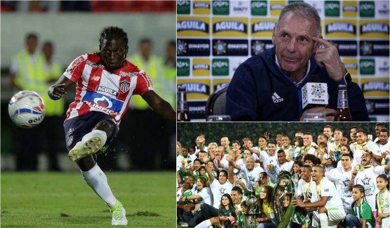 Fútbol colombiano: Russo, Chará y Nacional, los mejores de la Liga Águila según El País