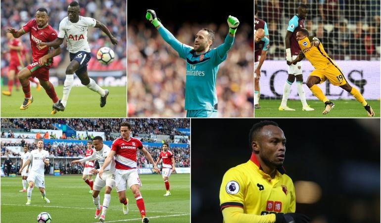 Futbolistas colombianos Inglaterra: Dávinson Sánchez: el estandarte colombiano en la 'Premier' en el 2017