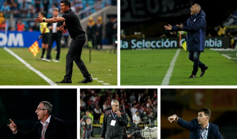 Técnicos extranjeros en el fútbol colombiano: Los técnicos extranjeros que estarán en el fútbol colombiano en el 2018