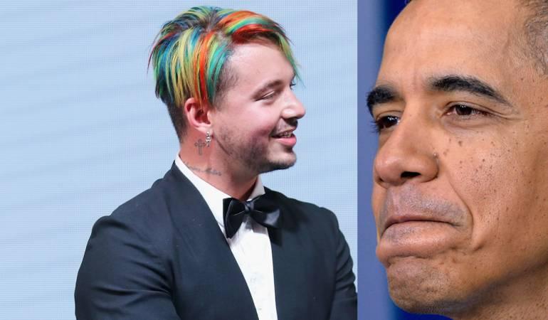 Obama aceptó que su canción favorita en 2017 es Mi Gente, del cantante colombiano J Balvin