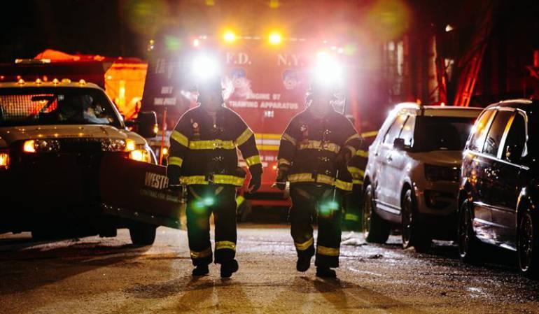 Incendio en Nueva York Bronx: Incendio en Nueva York deja al menos 12 personas heridas