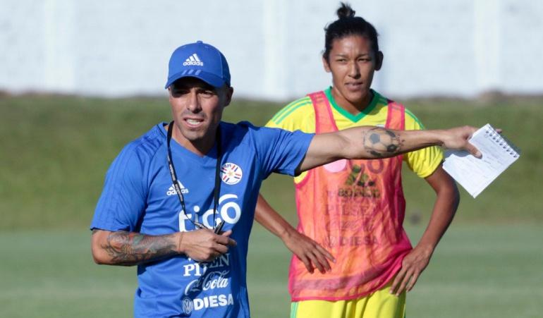 Vladimir Marín técnico selección femenina Paraguay: Vladimir Marín fue presentado como DT de la selección femenina de Paraguay