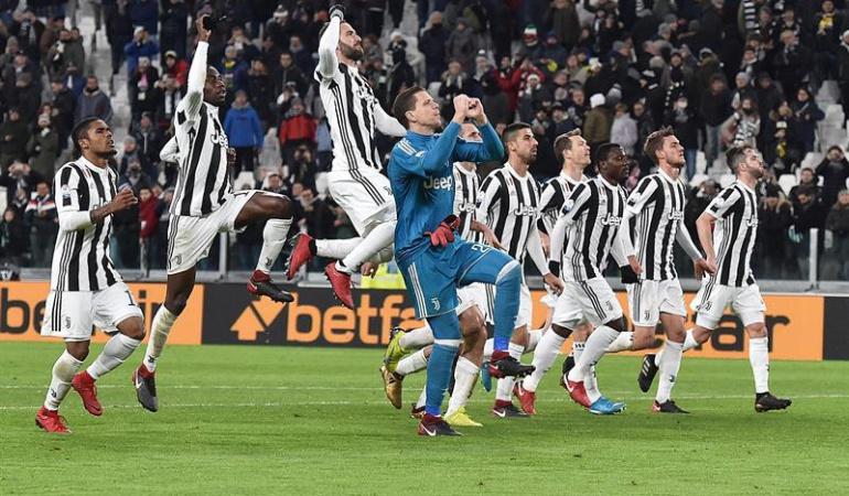Juventus 2-0 Torino: Juventus gana el derbi y completa el cuadro de semifinales de la Copa