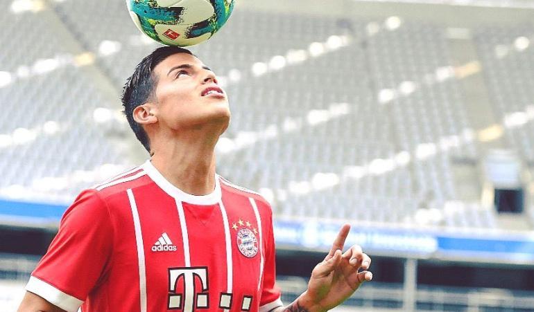 Fotos James favoritas hinchas Bayern Múnich 2017: Fotos de James, las favoritas por los hinchas del Bayern Múnich en 2017