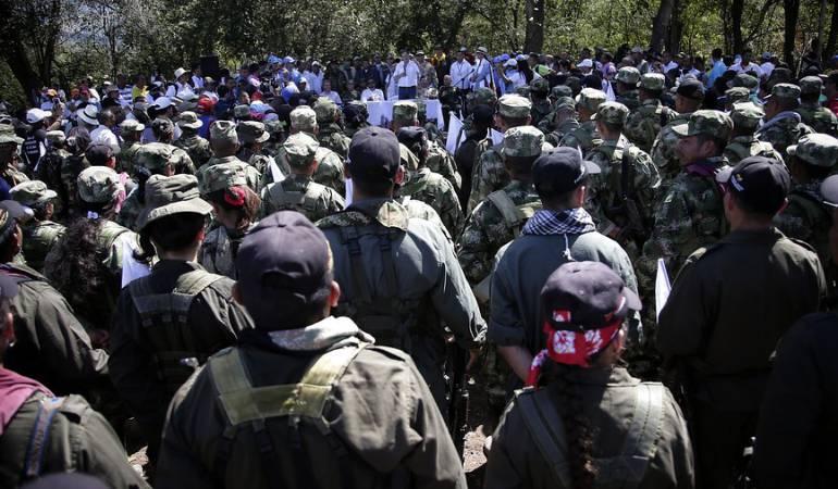 Ex Farc renta básica mensual: Cerca de 12.000 ex combatientes de Farc reciben renta básica mensual