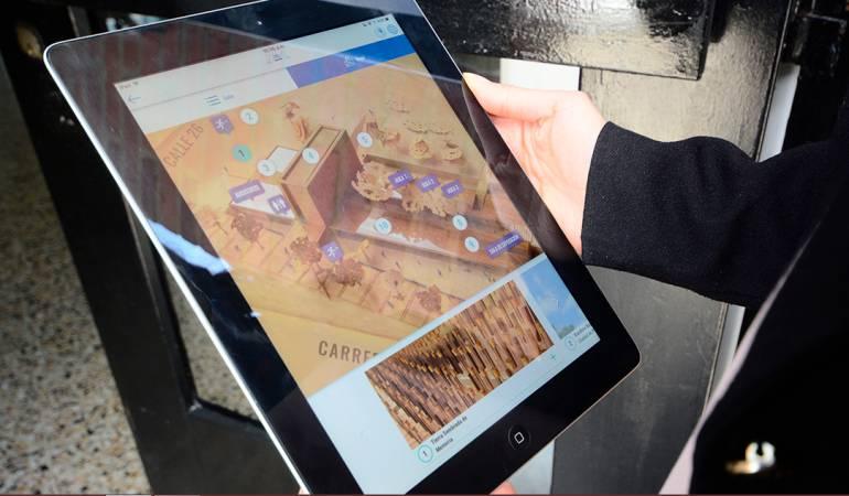 app HECHOS DE PAZ: Convierta a Bogotá en Centro de Memoria a través de una aplicación