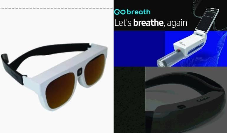 """CES 2018 C-LAB SAMSUNG: Altavoces privados, gafas inteligente y un """"respirador"""": los experimentos de Samsung para la CES"""