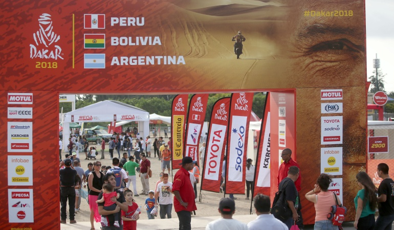 Cifras Rally Dakar: En cifras: Así será el Rally Dakar 2018