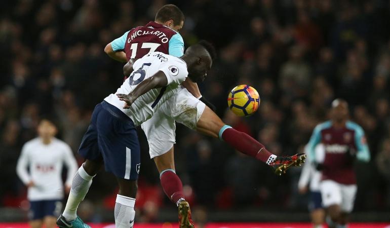 Davinson Sanchez: Con Davinson en cancha, Tottenham igualó ante el West Ham