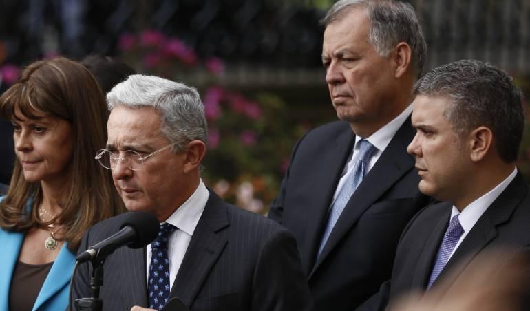 Duque pide acuerdo programático a Pastrana, Uribe, Ramírez y Ordóñez