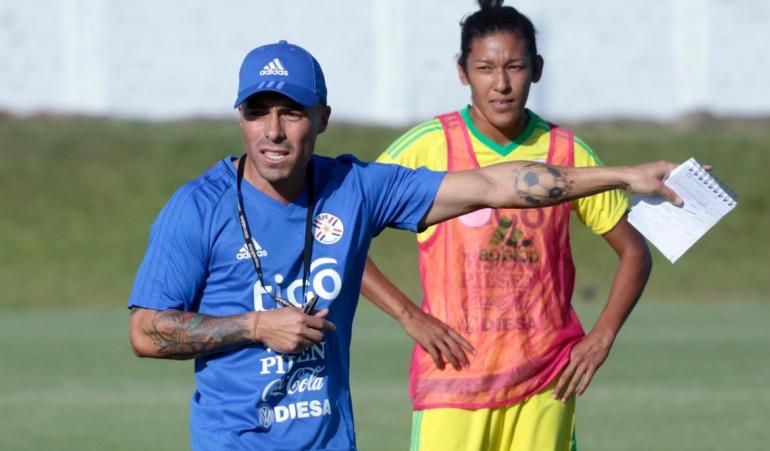 Vladimir Marín no es más técnico selección femenina Paraguay: Vladimir Marín deja la selección femenina de Paraguay dos días después de ser presentado