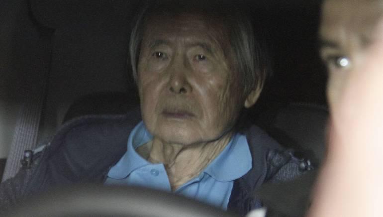 Expresidente Fujimori se reúne con sus hijos tras recibir alta médica
