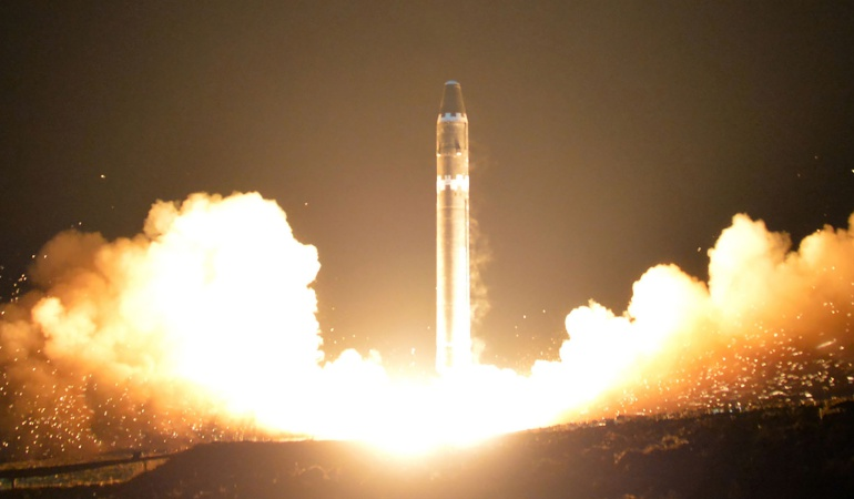 Misiles nucleares: Por error, Corea del Norte lanzo misil sobre una de sus ciudades