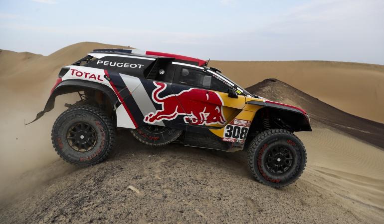 rally Dakar: Cyril Despres ganó la segunda etapa y tomó el liderato del Dakar en autos