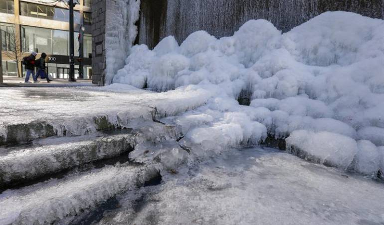 Ola de frío en Estados Unidos
