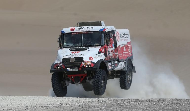 Tercer día Rally Dakar 2018: El Dakar sigue rumbo al sur en su tercer día de dunas