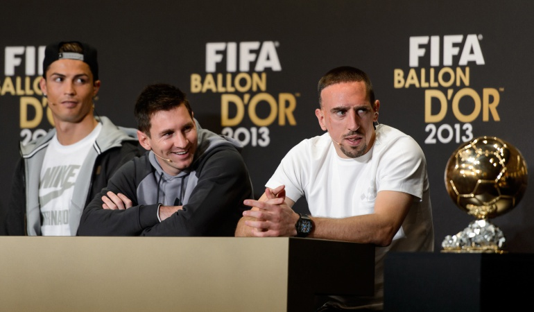 Franck Ribery: Sentí como si me hubiesen robado: Ribery sobre el balón de oro 2013
