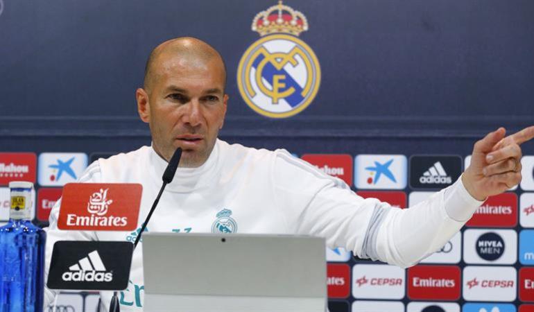 Zidane mierda culpa todos: No le voy a echar la mierda a uno o dos, la culpa es de todos: Zidane