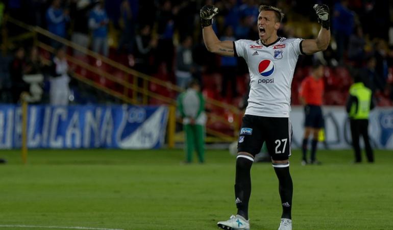 Nicolás Vikonis, arquero campeón con Millonarios, se va al Puebla de México