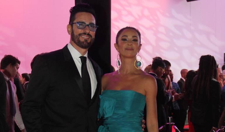 Miguel Varoni y Catherine Siachoque.