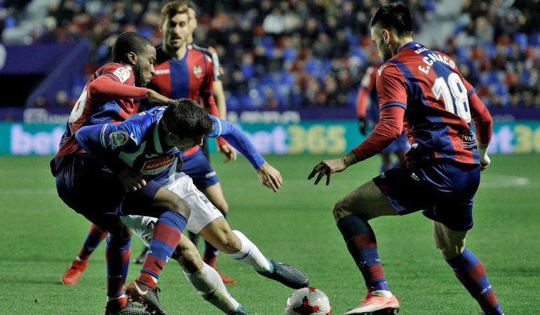 Futbolistas colombianos Lerma: Jefferson Lerma, suplente en la eliminación del Levante por Copa del Rey