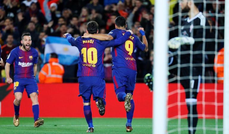 Barcelona Copa del Rey: Contundente: Barcelona venció 5-0 al celta y se clasificó a cuartos de Copa