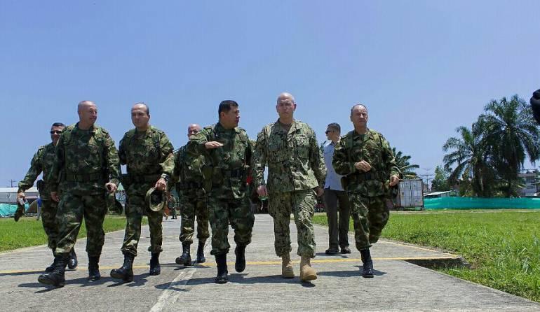 Fuerzas Militares: Fuerzas Militares mantienen ofensiva en el suroriente del país