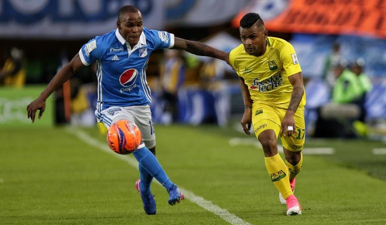 Fútbol Millonarios Jair: Palacios 2020: Jair renovó su contrato con Millonarios