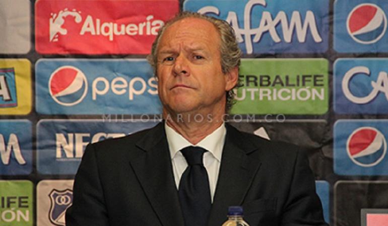 Millonarios Liga águila: Antonio Carraça no continuará en Millonarios