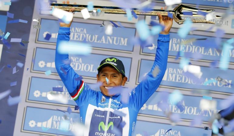 Ciclismo Nairo: Nairo Quintana buscará revalidar su título en la Tirreno-Adriático