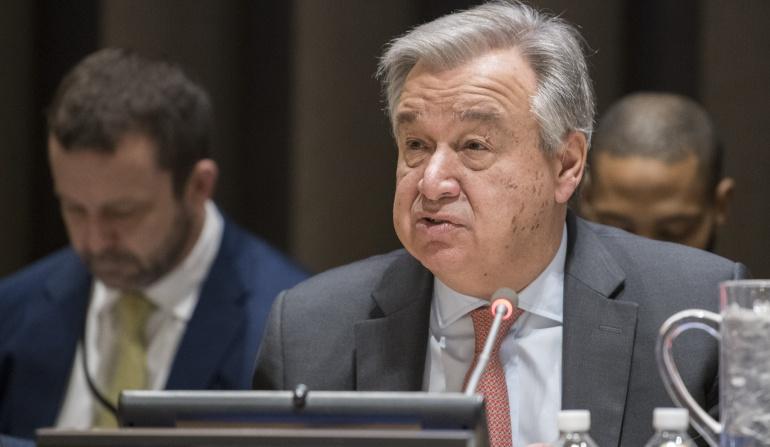António Guterres en Colombia: La negociación con el ELN y avances Farc, los ejes del encuentro ONU – Santos