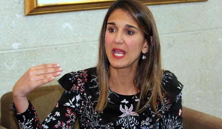 Yaneth Giha, ministra de Educación