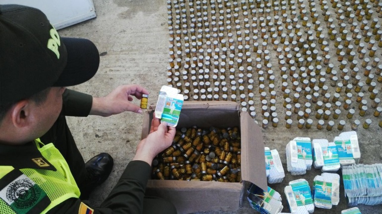 Contrabando de medicamentos: Desarticulan red de contrabando de medicamentos para enfermedades de alto costo