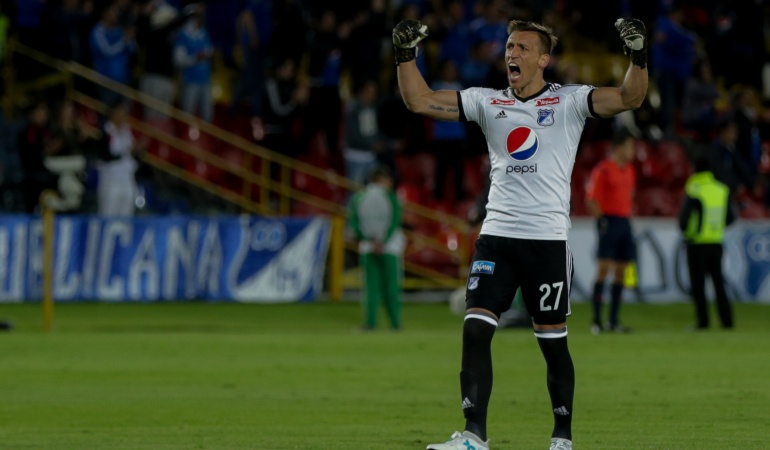 Nicolás Vikonis: Oficial: Millonarios confirma la salida de Nicolás Vikonis