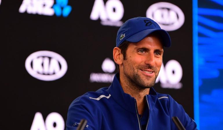 Novak Djokovic Abierto de Australia: Espero ser competitivo aunque mi codo no está al cien por cien: Novak Djokovic