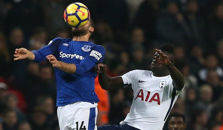 Futbolistas colombianos: Dávinson Sánchez jugó los 90 minutos en la victoria del Tottenham ante Everton